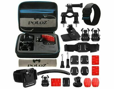 Puluz Accessories Set GoPro Kit Pole Head Chest Mount Cycle Camera Combi Pack