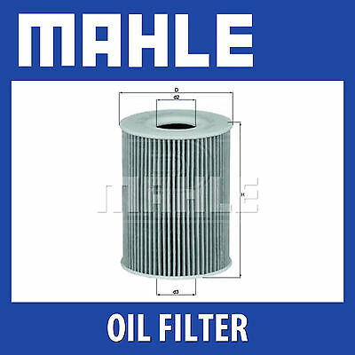 Mahle Oil Filter OX254D3 - Fits BMW M3 - Genuine Part