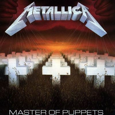 METALLICA - MASTER OF PUPPETS (CD) Sealed
