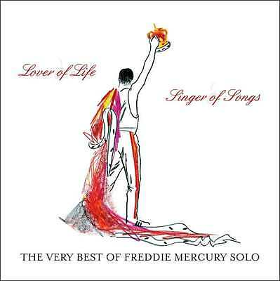 MERCURY,FREDDIE - LOVER OF LIFE SINGER SONGS: VERY BEST OF FREDDIE (CD) Sealed