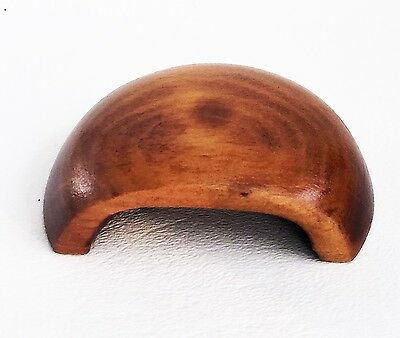 Cherry Antique Hardware Bin Pull Vintage Wood Art Deco Drawer Pull Knob Maple