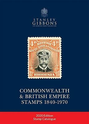 PRE-ORDER - 2019 Stanley Gibbons Commonwealth & British Empire Stamps Catalogue