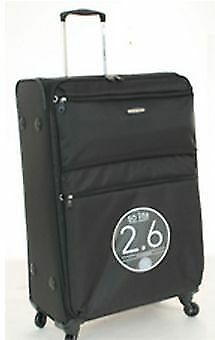 Australian Luggage Co SO LITE 3.0 Large Softsided Spinner Luggage - Black