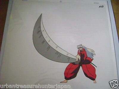 Inuyasha Rumiko Takahashi Anime Production Cel 16