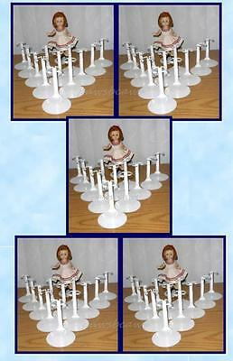 "5 dozen 60 Kaiser #2001 Doll Stands for 8"" Madame Alexander GINNY Ginger Muffie"