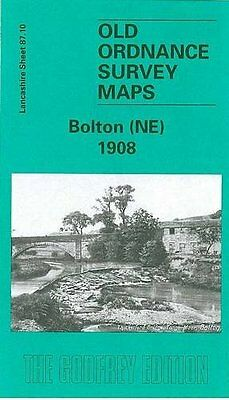 Old Ordnance Survey Map Bolton (Ne) 1908