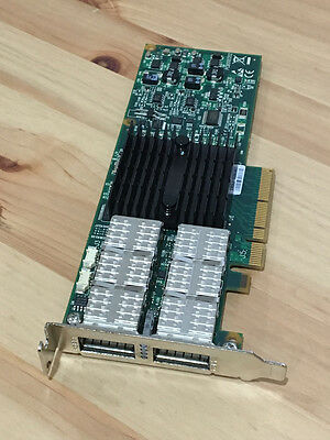 Mellanox ConnectX-2 QDR 40G IB Dual Port Network Adapter MHRH2A-XSR