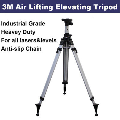 Elevated Tripod for Rotary Laser level Dumpy Level Cross Line Laser Heavey Duty
