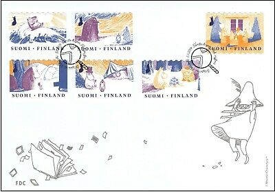 Moomin First Book Pictures Mymble Little My FDC 2011 Finland