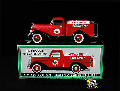 Spec Cast 72060 Texaco 1936 Dodge Fire Chief Tanker 1:25th. Scale Die-Cast