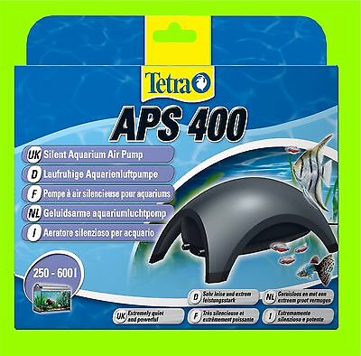 Tetra APS 400 Pompe à air Aquarium très calme Pompe a air pour 250-600l Aquarium