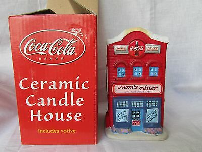 Coca-Cola  Collectible Ceramic Candle House In Box