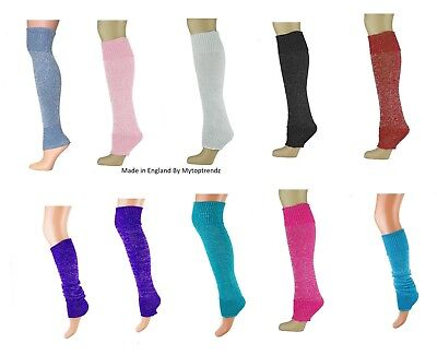 Luxurious Glitter Leg Warmers  Ladies -Teens Girls Legwarmers  In Various Colour