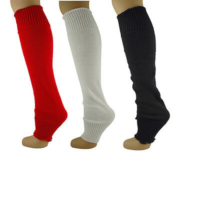 Leg Warmers Plain Luxury Soft Thick Knit Legwarmers Long Cosy Legwarmer Colour