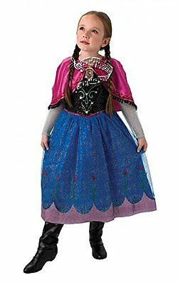Special Offer - Deluxe Disney Frozen Anna Musical Light Up  Fancy Dress Costume