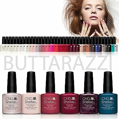 BEST PRICES CND Shellac UV Nail Polish Choose ANY NEW 2015 Colours | COLOUR COAT