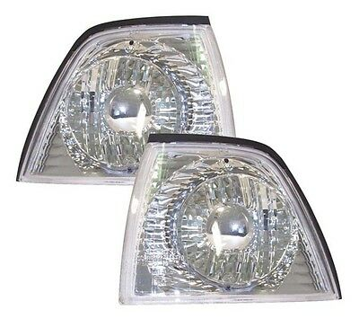 Bmw 3 Series E36 Saloon Compact Touring Front Indicators Chrome Projector-Style