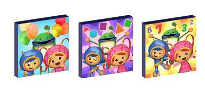 "TEAM UMIZOOMI  10"" x 10"" CANVAS PICTURE SET"