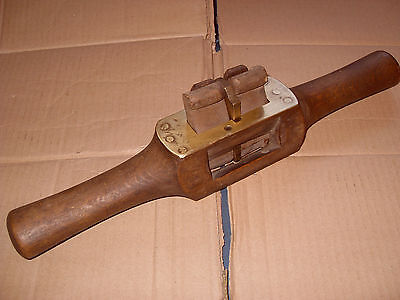 Vintage Sash Router With Brass Plate - As Photo's