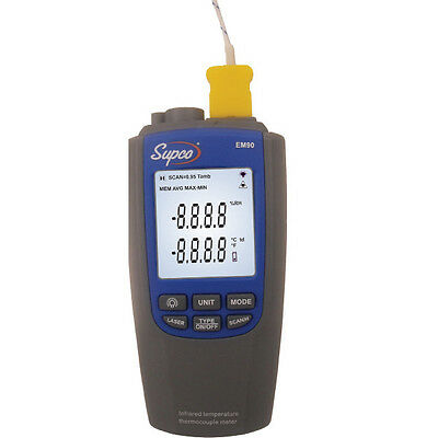 Supco EM90 Probe and Infrared Dual Thermometer