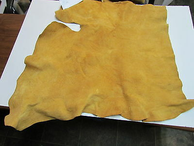 "Moose Hide Native American Dark Color Home Tanned Hide 33"" By 35"" Small, Sewing"