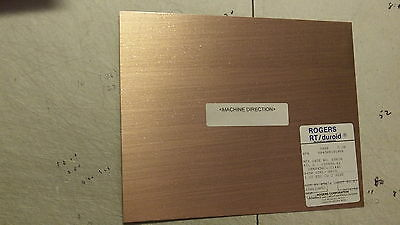 2 sheets, Rogers H.Frequency Laminates RT/duroid  .045,  1 oz. double sided