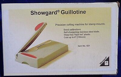Showgard Guillotine Stamp Mount Cutter # 601 Cuts Up To 150mm.