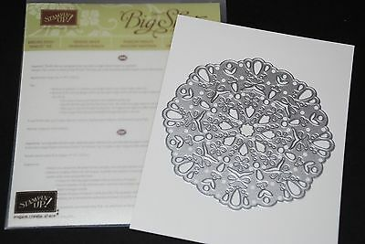 Stampin Up DARLING DOILY Thinlits Die (New & Sealed)