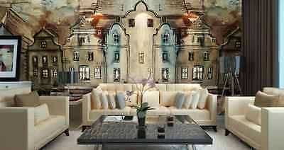 3D House Painting Wall Paper Wall Print Decal Wall Deco Indoor wall Murals