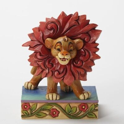 Jim Shore Just Can't Wait To Be King - Simba Figurine 4032861 Disney Traditions