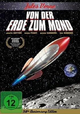 From the Earth to the Moon Joseph Cotten, George Sanders, Byron Haskin NEW DVD