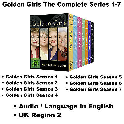 Golden Girls The Complete Series 1-7 Season 1 2 3 4 5 6 7 DVD BoxSet [24 discs]
