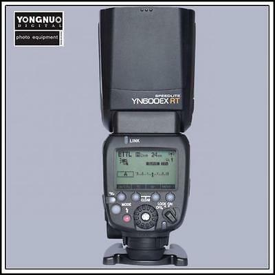 YONGNUO Flash Speedlite YN600EX-RT can trigger YN568, YN565 when at master mode
