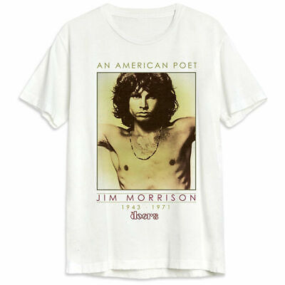 DOORS T-Shirt Jim Morrison American Poet Lizard King New Authentic S-3XL