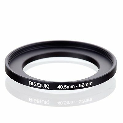 RISE(UK) 40.5mm-52mm 40.5-52 mm 40.5 to 52 Step Up Ring Filter Adapter black