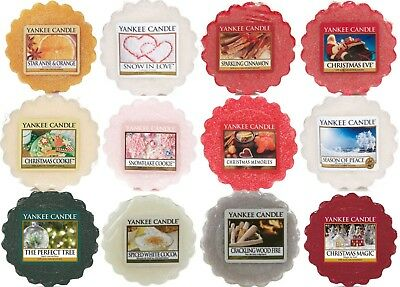 Yankee Candle Tarts / Melts - All Christmas Fragrances