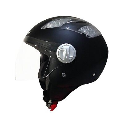 Casco Scotland Demi Jet Air Areato 100049 Leggero Moto Scooter Estivo Traforato