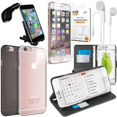 Orzly® Apple iPhone 6S Accessory Pack - Orzly Essential Case & Accessory Bundle