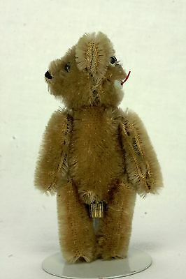 Antique German Schuco Jointed Janus Bear Two Face naughty and nice
