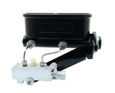 Wilwood Master Cylinder and Disc/Drum Proportioning Valve with Bracket & Lines