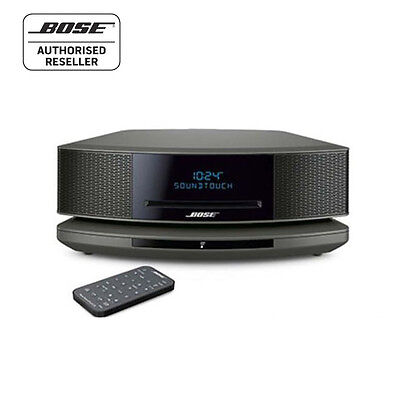 bose wave music system iv radio with cd dab black 799. Black Bedroom Furniture Sets. Home Design Ideas