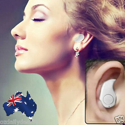 Stereo Mini Smallest Bluetooth Music Earphone Headset for iPhone Android Samsung