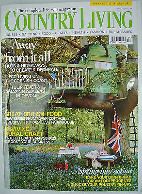 Country Living Magazine. April, 2008. Issue No. 268. Away from it all.