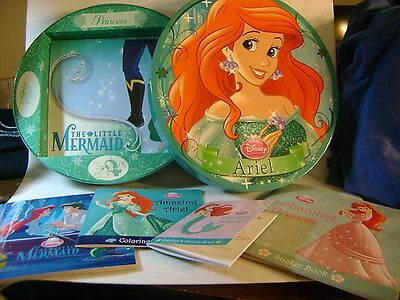 Disney Ariel Activity Box First Edition Story Activity Coloring Stickers 2013