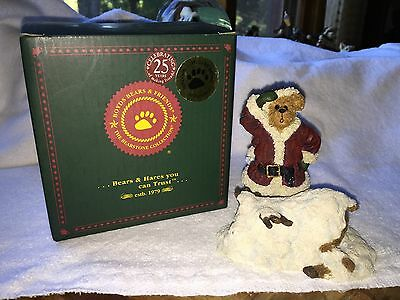 Boyd's Bears Nick And Rudy...hide And Seek - Reindeer Nose Lights Up! - 2E/mib