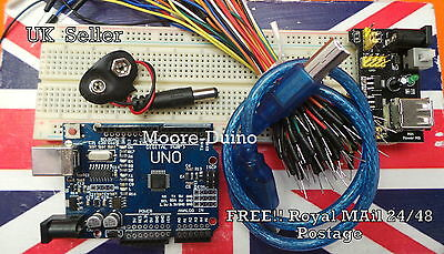 Prototyping jumper wires MB-102 Breadboard Starter Kit UNO R3 Development Board