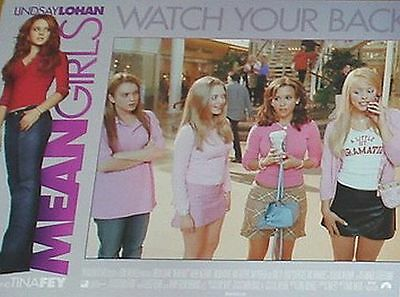 MEAN GIRLS - 11x14 US Lobby Cards Set - Lindsay Lohan, Lacey Chabert