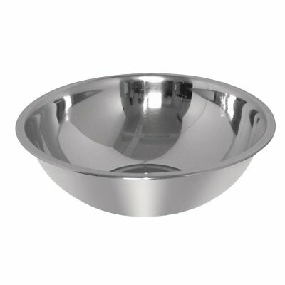 Vogue Stainless Steel Mixing Bowl 12Ltr Kitchenware Dish Food Storage Container