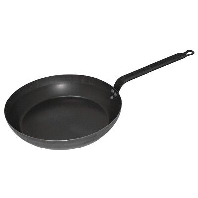 Vogue Black Iron Fry Pan 300mm Frying Kitchenware Cooking Cookware With Handle