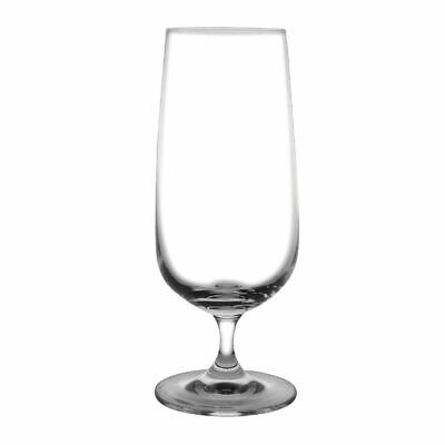 Pack of 6 Olympia Bar Collection Stemmed Beer Glasses 410ml Crystal